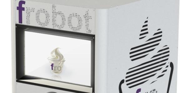 FroBot - Automatic frozen yogurt machine