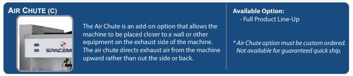 Spaceman Soft Serve Machine Air Kit